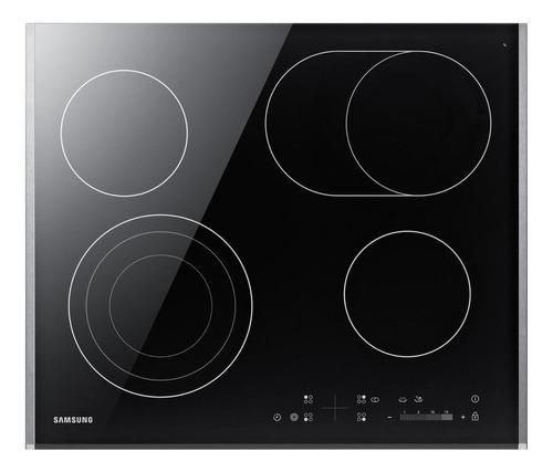 Imagen 1 de 2 de Anafe eléctrico Samsung CTR264 negro 220V