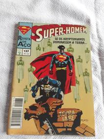 Gibi Antigo Super-homem 137 De 1995 Se O Kryptonianos Domina