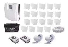 Kit Central De Alarme Gsm1000 Sulton Chip Com Sensores S/fio