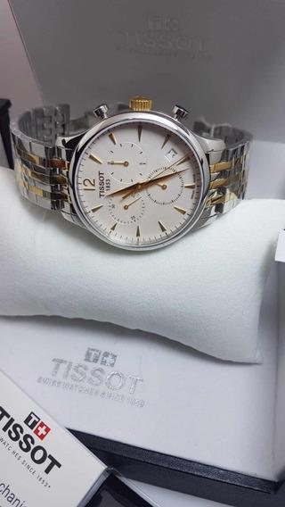 Relógio Tissot Tradition T063617 Original + Frente