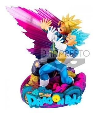 Figura Dragon Ball - Super Master Star Diorama - Vegeta & Tr