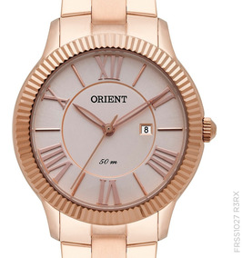 Relógio Orient Frss1027 R3rx Feminino Rosê Original + Nota