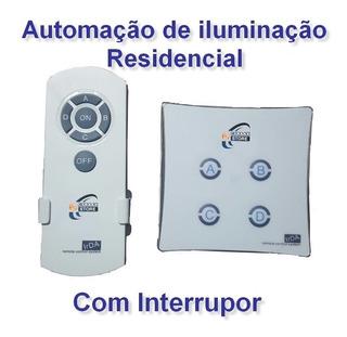Iluminação Led Automação Interruptor Controle Remoto Lâmpada