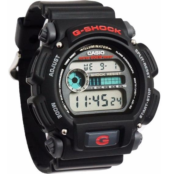 Relogio Casio G-shock Dw-9052-1 Preto Alarm Cronometro Wr200