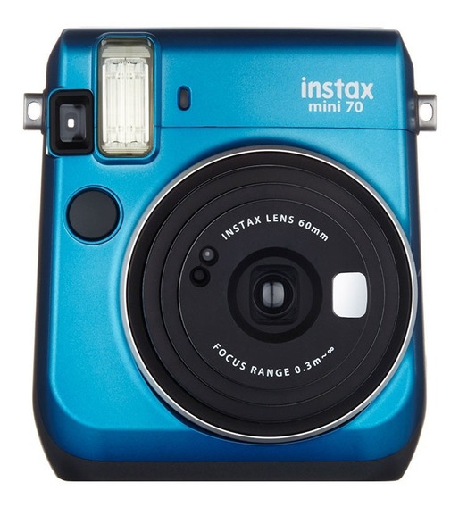Câmera Instax Mini 70 Fujifilm Instaxmini70 Azul