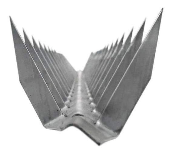 Lança Para Muro Em V - Concertina/ouriço/mandibula ( 08 Cm )