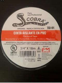 Teipe Cobra Fermetal X 18mts, Mayor Y Detal, Economico