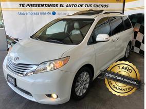 Toyota Sienna 2013 Limited, Piel, Q/c, Dvd