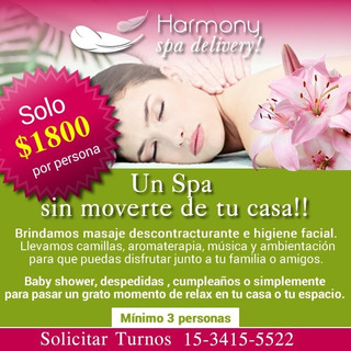 Spa Delivery Harmony (spa En Tu Domicilio)