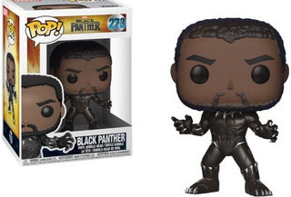 Funko Pop Black Panther Marvel - Minijuegosnet
