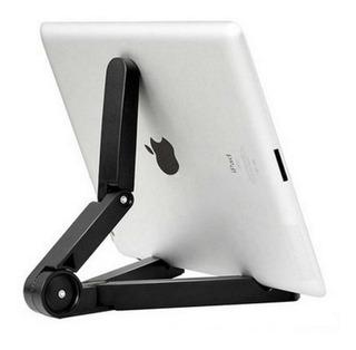 Soporte Universal Base Tablet iPad Plegable Holder Portatil