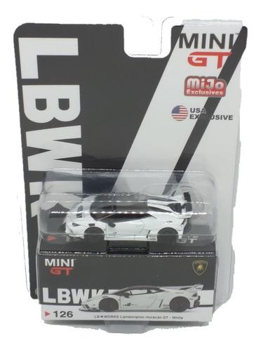Mini Gt Lamborghini Huracan Blanco Mijo Excl Usa Excl 1:64