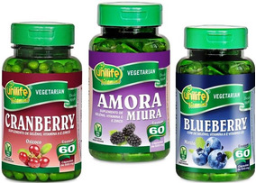 Blueberry Mirtilo Cranberry Amora Cápsula Polifenois Oferta