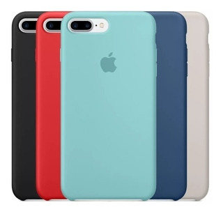 Capa Capinha Silicone Apple 7 8 X Xr Xs Xs Max E Plus