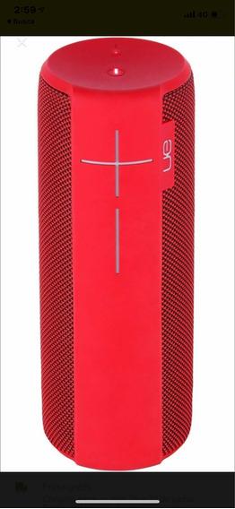 Caixa De Som Ue Megaboom Vermelha Acompanha Embalagem