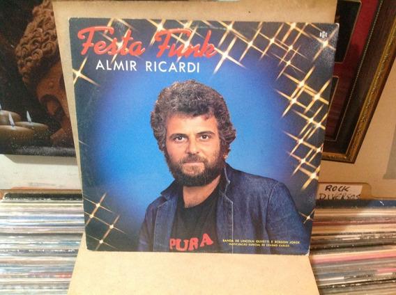 Vinil Lp Almir Ricardi - Festa Funk - Linconl Olivetti