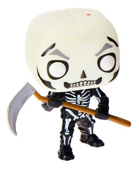 Boneco Fortnite Skull T Caveira Funko Pop! 438 Original