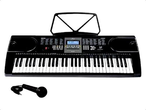 Teclado Musical Organo Piano Teclas Timbres 5 Octavas Atril