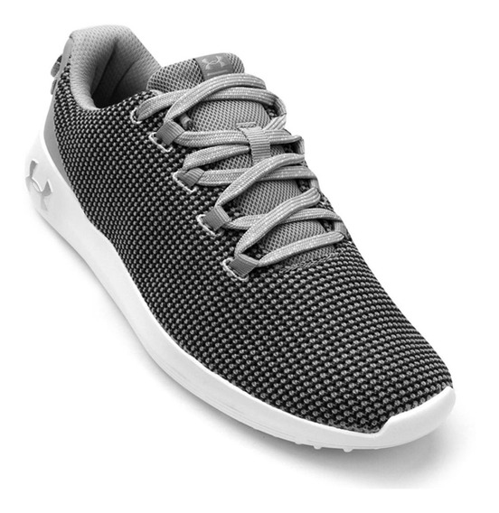 Tênis Under Armour Ripple Sa Feminino Original Cinza E Preto