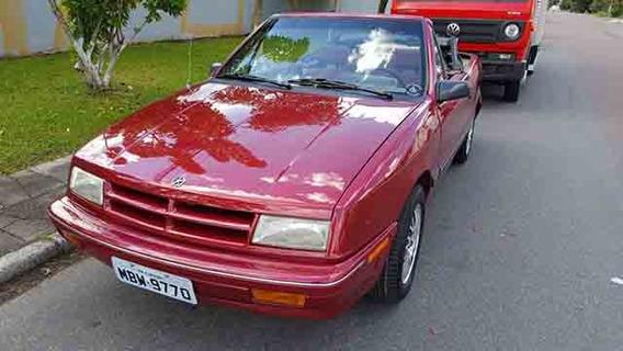 Dodge Conversivel 1988 Automatico Troco Por Antigo R$ 50 000