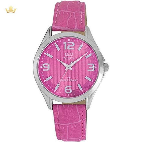 Relógio Q&q By Japan Feminino C192j315y Com Nf
