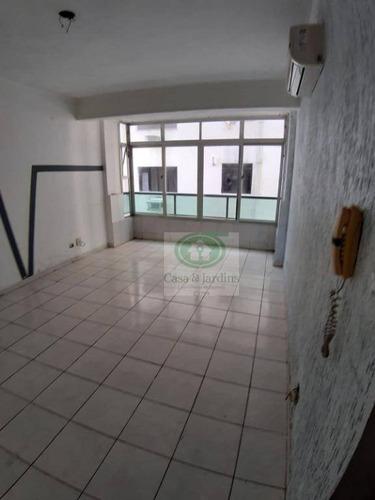 Imagem 1 de 30 de Apartamento Com 1 Dormitório À Venda, 58 M² Por R$ 190.000,00 - Itararé - São Vicente/sp - Ap6626