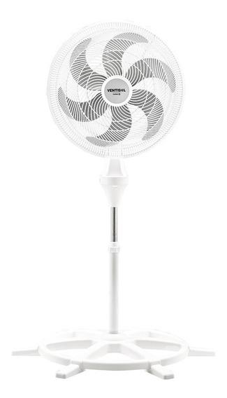 Ventilador Osc Coluna Turbo 6p 50cm Branco 127v Ventisol