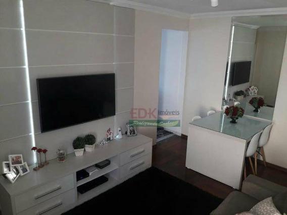 Apartamento Com 2 Dormitórios À Venda, 52 M² Por R$ 215.000 - Jardim América - São José Dos Campos/sp - Ap3649