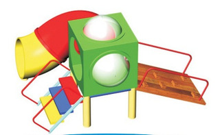 Juego Infantil 1 Cubo Ideal P/ Jardin De Infantes- Cod. 3002