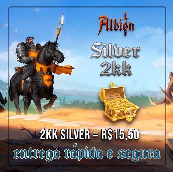 Albion Online 2kk De Silver Barato E C/ Entrega Rápida!