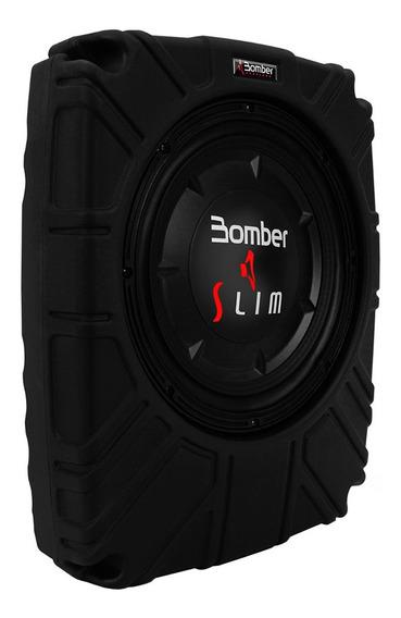 Caja Amplificada Bomber Subwoofer Slim 8 Audio Car Potencia