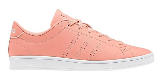 Tenis adidas Advantage Clean Qt Mujer Rosa Casual Sneaker