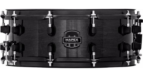 Caixa Mapex Mpx Maple Transparent Midnight Black 14 X 6,5
