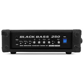 Cabeçote Baixo Black Bass 250 - Sound Maker