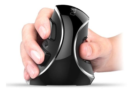 Mouse Vertical Ergonômico Sem Fio - Delux M618 Plus Orig