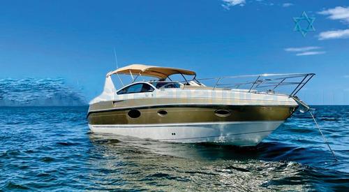 Imagem 1 de 10 de Lancha Real 350 Barco Iate Ferreti Azimut Axtor Intermarine