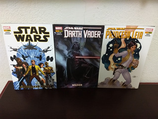 Hqs Star Wars, Darth Vader E Princesa Leia R$20 Os 3 Volumes