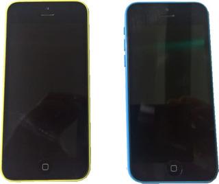 2 Unid. iPhone 5c 8gb Desbloqueado Original 1 Ótimo Estado