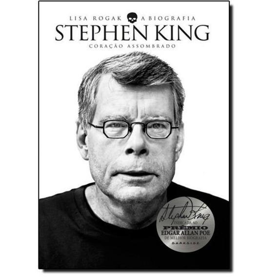 Stephen King - A Biografia - Seminovo Ótimo Estado Raridade!