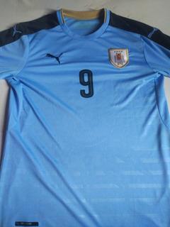 Camisa Uruguai 2016 #9 Suarez