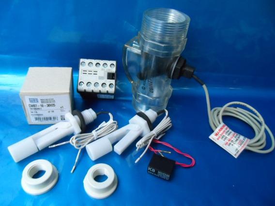 2 Sensores , 2 Adapt., Contator, 1 Filtro E 1 Contrasseco,