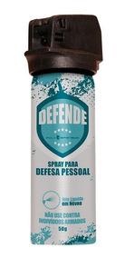 Spray De Defesa Pessoal Em Névoa 50g Poly Defensor