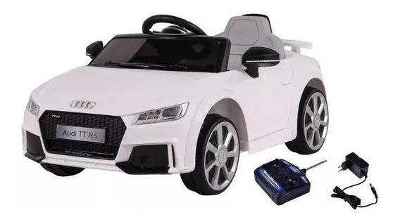 Mini Carro Infantil Elétrico Audi Tt Rs 12v 921707 Belfix
