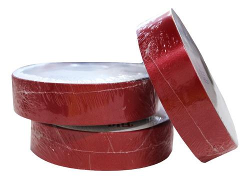 Imagem 1 de 1 de 1 Rolo Fita Master Lisa Para Laços 32mmx100m - Vermelho