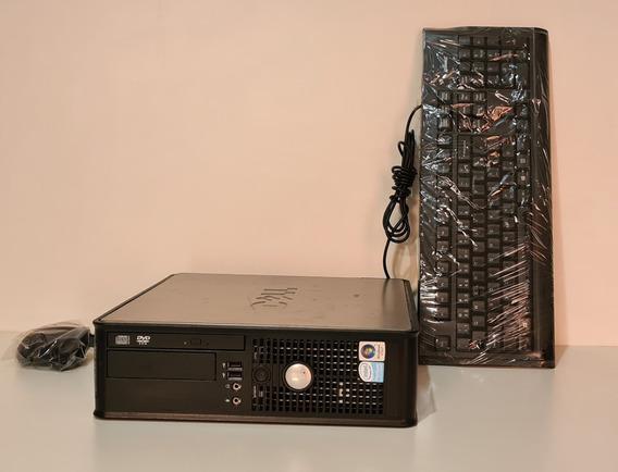 Cpu Dell Gx745 Mini Ssf Dual Core 4gb Ddr2 160gb Hd