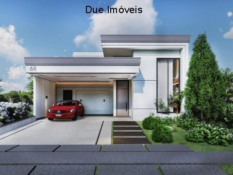 Imagem 1 de 6 de Casa Térrea No Condomínio Piemonte - Ca02178 - 69230554