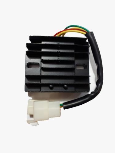 Imagen 1 de 1 de Rectificador De Corriente  110cc 2 Fichas 5 Terminales