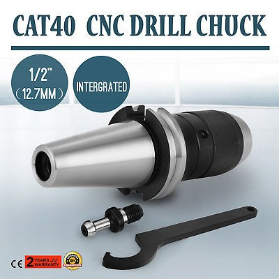 """CAT40 DRILL CHUCK 1//2/"""" FITS ON HAAS CNC INTERGRATED PRECISION HOT POP GOOD"""