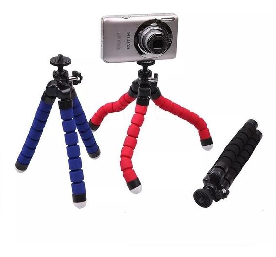 Suporte Celular Flexível Tripé Gravar Vídeo Foto