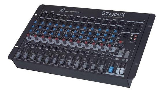 Mesa De Som Starmix - S1202d Com 12 Canais